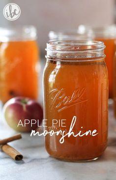 Apple Pie Moonshine recipe | inspiredbycharm.com
