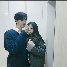Read Couple 4 from the story Ulzzang List by (Yours) with reads. Untuk yang nungguin chapter couple 😆HERE YOU GO. Japanese Couple, Korean Couple, Cute Japanese, Best Couple, Ulzzang Couple, Ulzzang Girl, Korean Girlfriend, Korean Best Friends, Relationship Goals Pictures