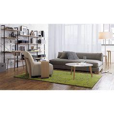 piazza storm velvet sofa in sofas | CB2