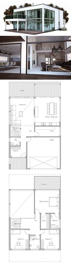 Container House - Modern Home Plam - Who Else Wants Simple Step-By-Step Plans To Design And Build A Container Home From Scratch? #modernhomedesignarchitecture