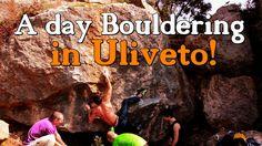 Una giornata a fare BOULDER A ULIVETO! A Day of BOULDERing in tuscany! B...