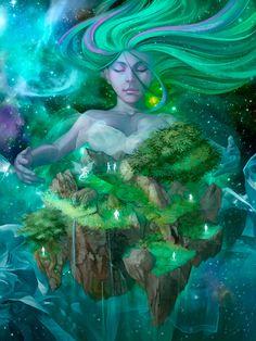 DeNA Fantasy/Sci-Fi, Cristian Gonzalez on ArtStation at https://www.artstation.com/artwork/agBw2