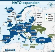 The Secret Back Story to Russia and Ukraine that Americans Never Learned In School nato map