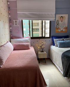 Boy And Girl Shared Bedroom, Little Girl Rooms, Bedroom Red, Kids Bedroom, College Bedroom Decor, Room Interior, Interior Design, Dorm Room Organization, Cute Bedroom Ideas