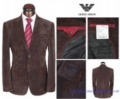 Costume à deux boutons Homme Giorgio Armani Pas Cher Brun Giorgio Armani, One Piece Man, Formal Jacket, Business Formal, Buying Wholesale, Famous Brands, Mens Suits, Jackets For Women, Mens Fashion