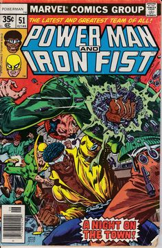 Power Man and Iron Fist 51 June 1978 Issue  Marvel by ViewObscura