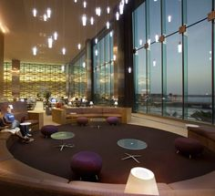 King Abdullah University of Science and Technology - Academic Library  Firm: HOK  Location: Thuwal, Saudi Arabia