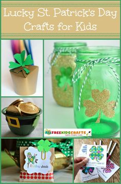 UPDATED! 38 Lucky Saint Patrick's Day Crafts for Kids