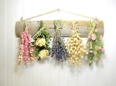 Dried Flower Rack Wall Decor Dried Flower Arrangement