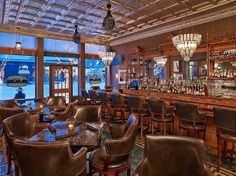 J-Bar at the Hotel Jerome in Aspen, Colorado | 14 Mountain Town Bars You Must Drink At This Winter