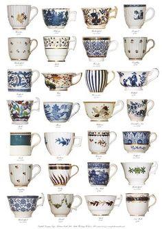 Georgian cups 1760 - 1825