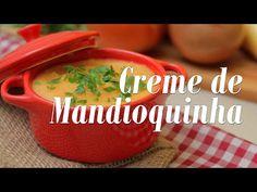 Creme de Mandioquinha, Batata e Tomate - Presunto Vegetariano