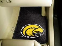 NCAA - Car Mats 2 Piece Front - Southern Mississippi.  Buy it @ ReadyGolf.com