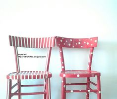 Vecchie sedie recuperate https://www.facebook.com/Bicho-feo-382736388432736/?ref=hl
