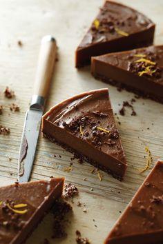 Raw Chocolate Orange Torte Recipe - Vegan + Gluten-Free