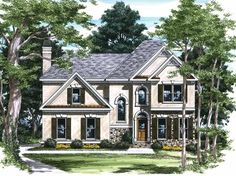 Eplans New American House Plan - Impressive Design - 1815 Square Feet and 3 Bedrooms(s) from Eplans - House Plan Code HWEPL08119