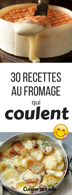 30 recettes au fromage qui coulent - fondue - raclette - aligot - Easy Smoothie Recipes, Easy Smoothies, Good Healthy Recipes, Healthy Snacks, Snack Recipes, Macaroni Cheese Recipes, Raclette Fondue, Cheese, Recipes