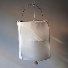 white Koushi lampshade