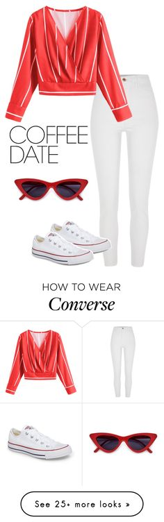 """""""Buzz-Worthy: Coffee Date #5"""" by svs-selma-svs on Polyvore featuring River Island, Converse and CoffeeDate"""
