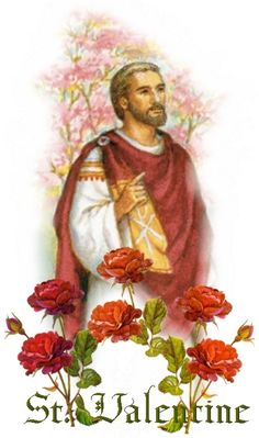 Valentine - preacher - healer - martyr. Saint Valentine is a third century saint commemorated on February 14 (the date of his martyrdom).