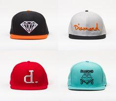 New Diamond Supply Co snapbacks (Spring 2014)