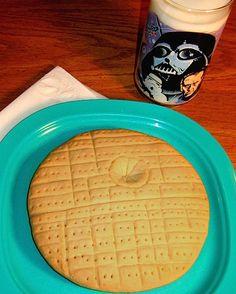 Death Star Cookie #StarWars