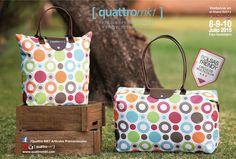 ¡Prepárate para este verano con las mejores bolsas! ¡Acompáñanos este 8, 9 y 10 de Junio en Expo Guadalajara! Síguenos en nuestras redes sociales instagram: https://instagram.com/quattromkt/ Facebook: https://www.facebook.com/pages/Quattro-MKT-Art%C3%ADculos-Promocionales/462733710468128