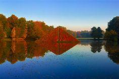Branitz Park in Brandenburg  #Brandenburg #Branitz #Park #Germany #Pyramid