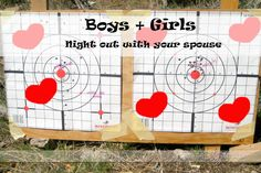 Boys/Girls Night Out...with your spouse!  #datenight #girlsnight