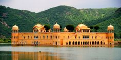 """Jal Mahal is famous tourist destination in Jaipur. Meaning of Jal Mahal is """"Water Palace"""". Jal Mahal is located in the middle of the Man Sagar Lake in Jaipur,Rajasthan."""