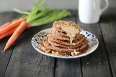 Daily Recipe Inspiration: Try These Vegan Carrot Cake Tahini Pancakes for a Unique Morning Meal!