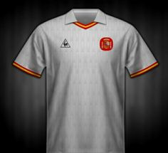 Spain away shirt for the 1988 European Championship.
