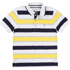 Timberland T25L70 Stripe Polo Shirt | In Store | Kizzies