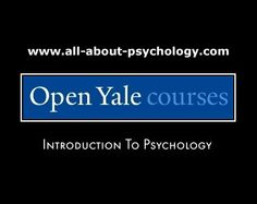 Learn psychology for free via an outstanding Introduction to Psychology course delivered by Professor Paul Bloom from Yale University. Online Psychology Courses, Psychology Resources, Psychology Fun Facts, Psychology Student, Health Psychology, Preschool Special Education, Free Education, Science Education, Social Science