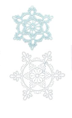 Crochet Patterns Christmas Mobile LiveInternet We knit for the New Year Bandeau Crochet, Crochet Diy, Thread Crochet, Crochet Motif, Irish Crochet, Crochet Crafts, Crochet Doilies, Crochet Flowers, Crochet Projects