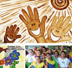 Hogar Don Bosco - Andes Antioquia - Colombia. The children's drawings of the salesian schools around the world.