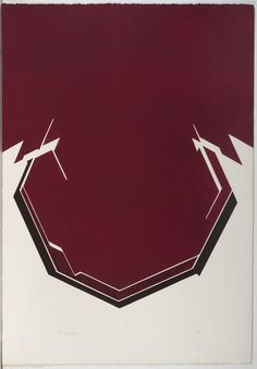 "PABLO PALAZUELO, ""Sigila V"" Grabado 90x75 cm, edición 20/75, 1977. ( From my private collection)"