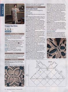 Marisabel crochet: túnica