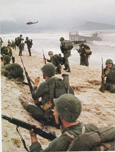 1965, Red Beach Danang
