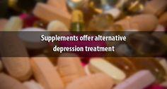 Supplements offer alternative #depression treatment