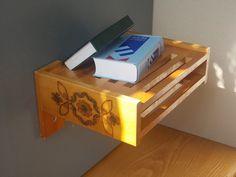 Vintage Shelf / Wood Display / Folk Shelf / Shabby by EUvintage, $35.00