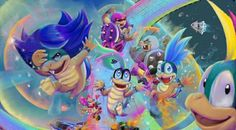 Super Mario Games, Super Mario Art, Nintendo Sega, Nintendo Games, Mario Kart 8, Mario Bros, Super Smash Bros, Awesome Stuff, Bowser