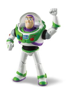 BUZZ LIGHTYEAR Toy Story Posable Action Figure - Disney / Pixar