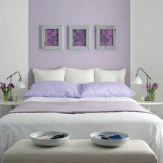 Browse popular Unique Lavender Paint Color Lavender Bedroom Paint Colors graphics at Wisatakuliner.xyz with our home designer, Cheryl Perez. Lilac Walls, Lilac Bedroom, Girls Bedroom, Bedroom Decor, Bedroom Ideas, Lavender Walls, Lavender Paint, Master Bedroom, Bedroom Wall