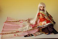 How to wear Heain Period kimono ¤ªÉþ