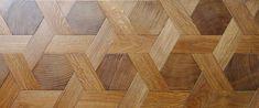 Atelier des Granges - French parquet style : End Grain wood blocks Wood Tile Floors, Parquet Flooring, Hardwood Floors, Flooring Ideas, Wood Floor Pattern, Floor Patterns, Floor Design, House Design, Ceiling Trim