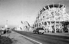 The Puyallup Fair WOODEN Roller COaster