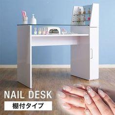 Nail Salon And Spa, Home Nail Salon, Nail Salon Design, Nail Salon Decor, Beauty Salon Decor, Salon Interior Design, Nail Desk, Nail Room, Spa Room Decor