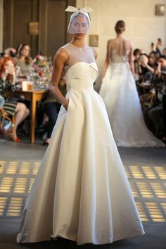 Bridal Fashion Week 2017: Lela Rose - HouseBeautiful.com