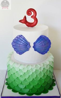 Cute Mermaid Cake!